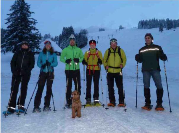 Zu Fuß im Winterwonderland