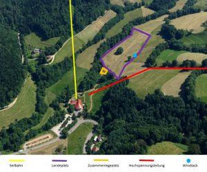 Lageplan LP Schauinsland