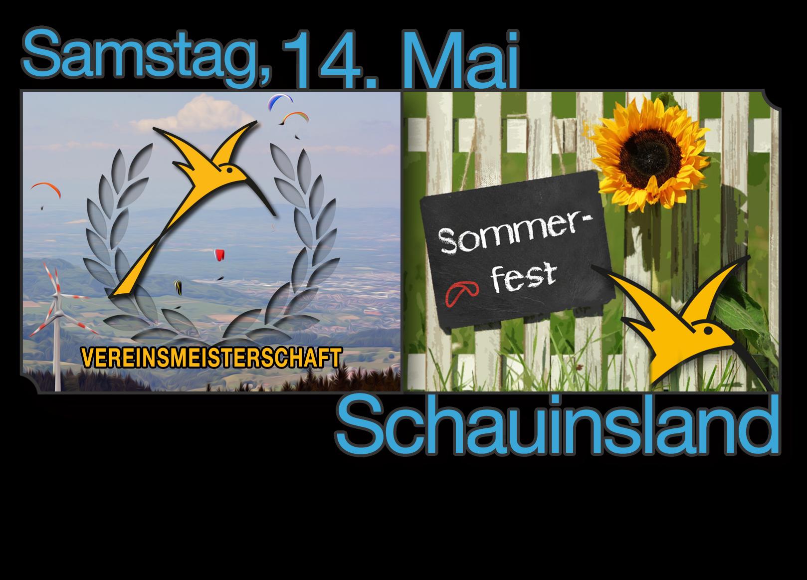 Vereinsmeisterschaft und Sommerfest 2016 (14.05.)