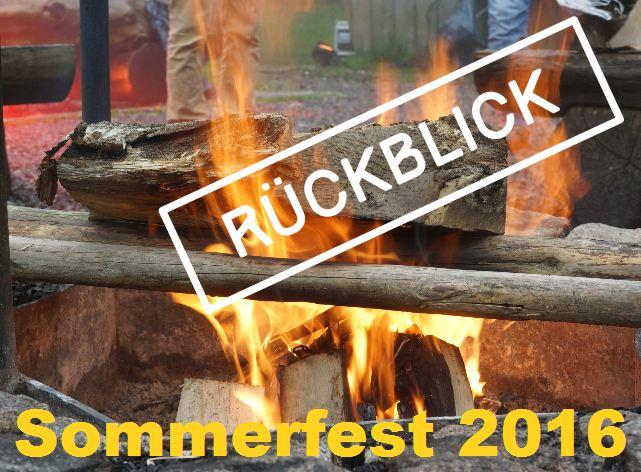 Rückblick: Sommerfest 2016