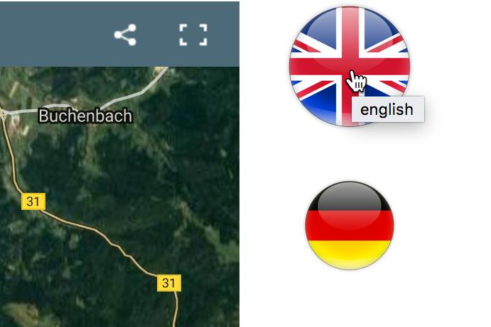 Geländeseite Schauinsland übersetzt