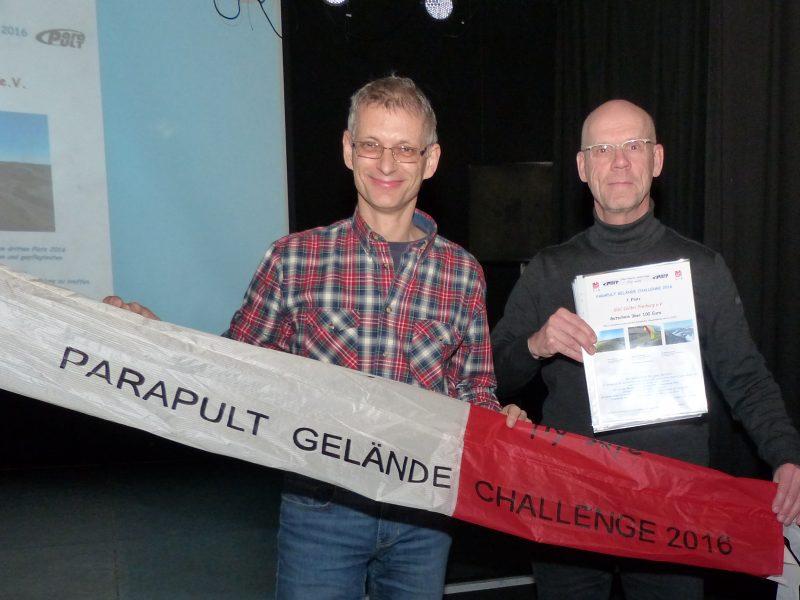 Parapult Geländechallenge 2016 – 3. Platz für den GSC Colibri Freiburg e.V.