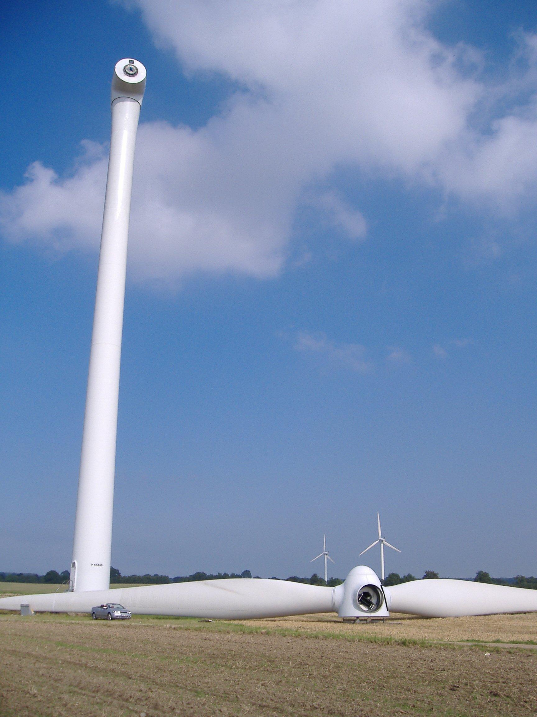 Windkraftanlagen am Taubenkopf