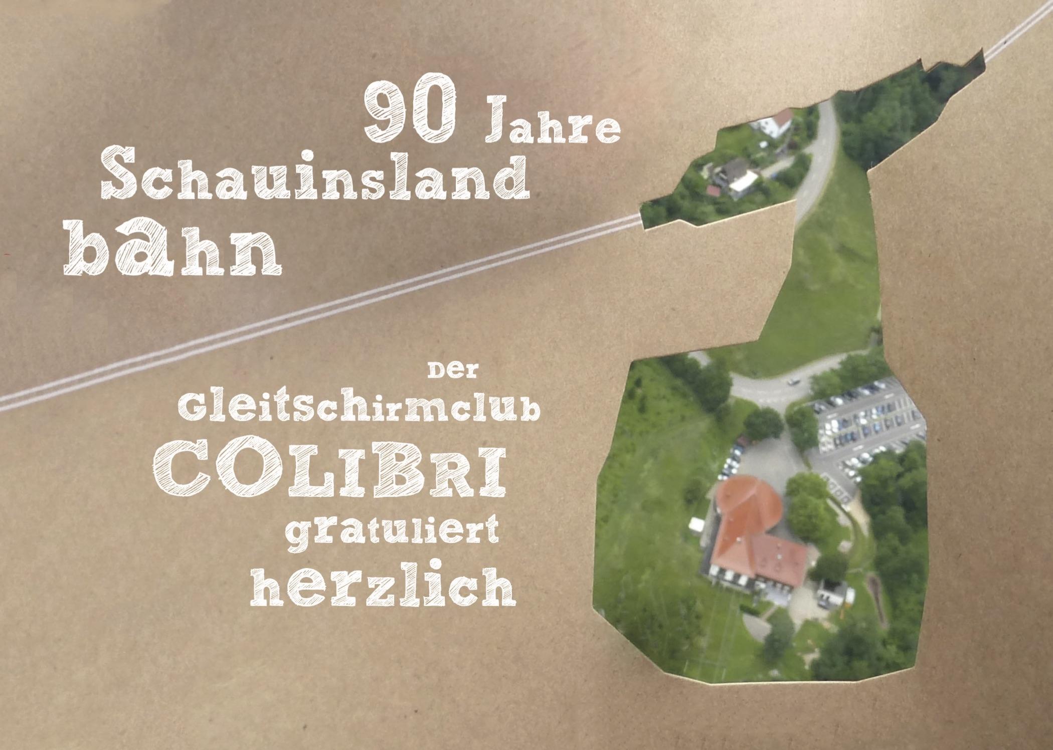 90 Jahre Schauinslandbahn – Wir gratulieren!